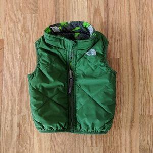 North Face Vest Size 6-12 Months